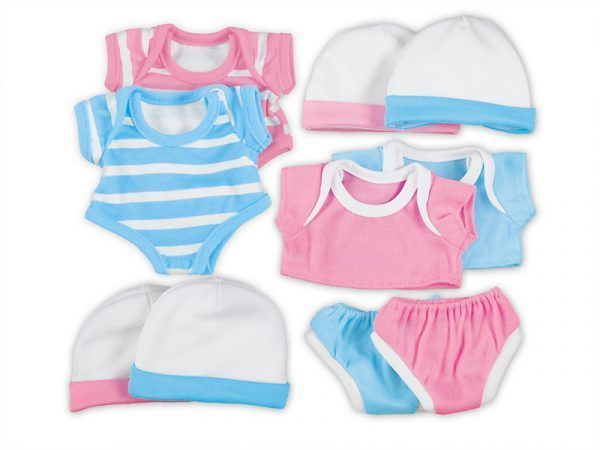Clothes for 10″ Newborn Dolls