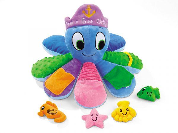 Peek a Boo Octopus