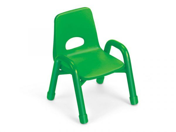 Kids Colors™ Stacking Chairs 6″ Green