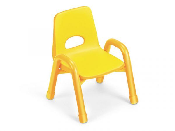 Kids Colors™ Stacking Chair 15″ Yellow