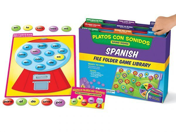 Spanish File Folder Game Library – Pre K-