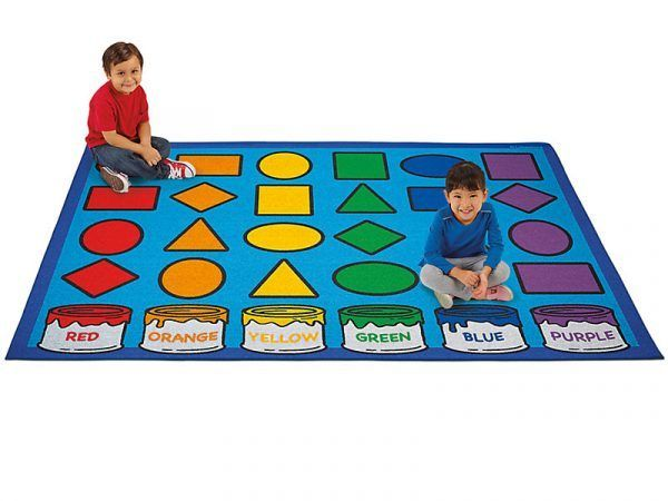Learning Shapes & Colors Activity Carpets