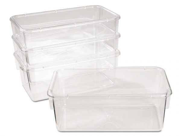 Clear-View Bins – Set of 4