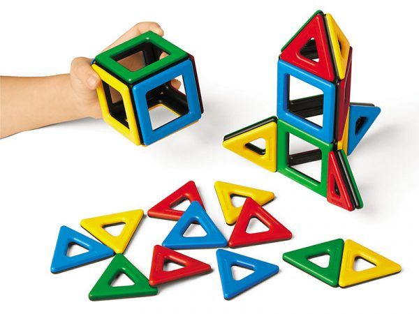 3-D Magnetic Builders – Starter Set