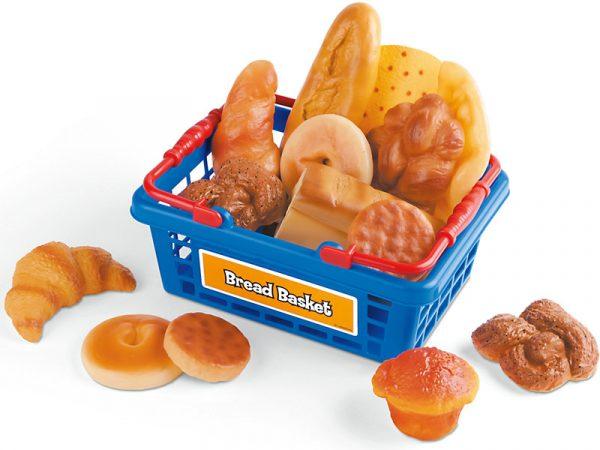 Let's Go Shopping Bread Basket