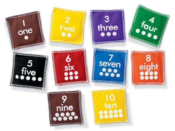 Numbers Beanbag Set